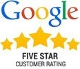 google five star review rating